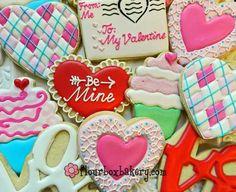 Argyle Pattern / Valentine's Day (Heart Cookie Cutter)