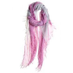 Ombre Cashmere Silk Blend Scarf