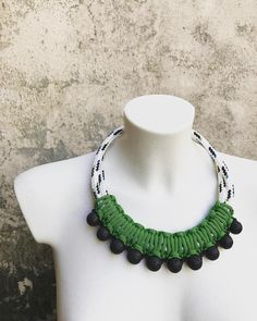 """Mi piace"": 33, commenti: 2 - Silvija Talan (@nott.ordinaryjewelz) su Instagram: ""Jutro! #nottordinaryjewelz #handmadejewelry #handmadenecklace #ropejewelry #ropenecklace #sunnyday…"""