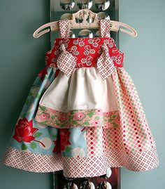 Swell Baby Dress | Dress pattern is Claire by Sandi Henderso… | Flickr