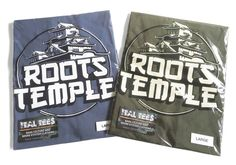 Official Ital Tees Roots Temple Design on Heavyweight Cotton