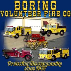 Design created for Boring Volunteer Fire Company