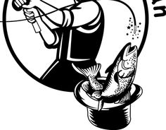 """Check out new work on my @Behance portfolio: """"Fishin' Magician"""" http://be.net/gallery/32605109/Fishin-Magician"""