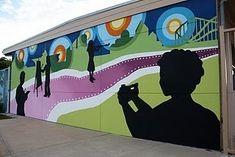 Farm mural in an elementary school cafeteria. Description from pinterest.com. I…