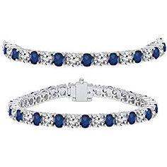 Sarotta Jewelry Round Cut Jaune Citrine Tennis Statement Fashion Bracelet