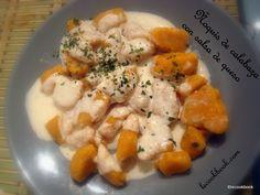 Ñoquis de calabaza con salsa de queso | Le Cookbook