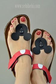 Micky slippers...I love HK but these are adorable
