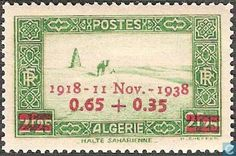 Algeria - Stop Sahara-imprint 1938