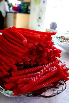 Red Licorice - Twizzler style !