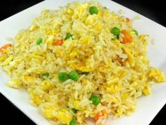 Asian Kitchen, Fried Rice, Sweet Recipes, Fries, Chinese, Yummy Yummy, Ethnic Recipes, Food, Essen