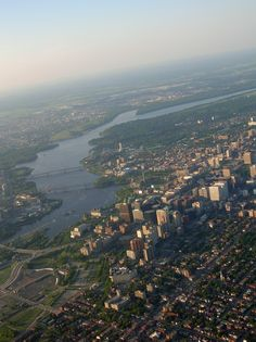 In view from left to right: Gatineau the Ottawa River and Downtown Ottawa Ottawa Canada, Ottawa Ontario, O Canada, Canada Travel, Weather History, Ottawa River, Capital Of Canada, Continents, Touring