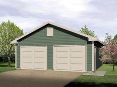 Elevation of Traditional   Garage Plan 49050
