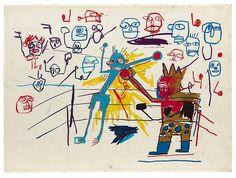 Exposición de los dibujos de Jean-Michel Basquiat | MUNDO FLANEUR