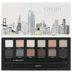 Cargo The Essentials Eye Palette. I love Cargos eye shadows. The color are great and the payoff is amazing. When I use them on clients they always want to know what I'm using. I think 5 or 6 of them have gone out to get some of Cargos products. If you haven't tried them yet you really need to do it now