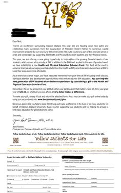 Christmas Donation Letter - A Christmas donation letter ...