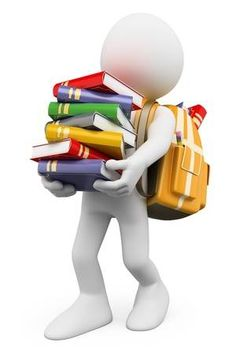 Illustration about white people. Student carrying a stack of books back to school. Illustration of human, holding, concept - 32655489 Man Clipart, Animated Clipart, Powerpoint Animation, Funny Emoticons, Sculpture Lessons, 3d Man, Emoji Images, Certificate Design, Art Drawings For Kids