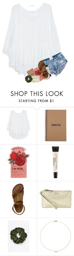 """""""so much stuff to dooo but i'm eating icecream and on poly whoops"""" by classyandsassyabby ❤ liked on Polyvore featuring MANGO, Brika, Charlotte Russe, philosophy, Birkenstock, Kate Spade and Sole Society"""