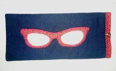Porta Óculos, em patchwork