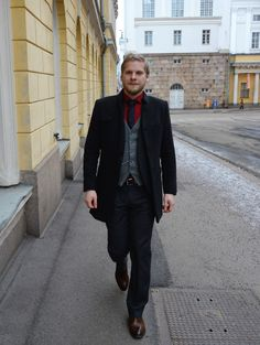 Early spring combination by #raatalistudio  #suit #suits #helsinki #tampere #puvut