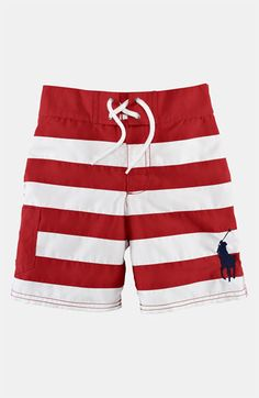 3d5dda87ca568 Ralph Lauren boys toddler swim trunk. Super cute!! Lots of swimming with  Everett this Summer :) we're going to be outside a lot! | My Summer.