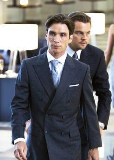cillian murphy in a suit ft. leonardo dicaprio