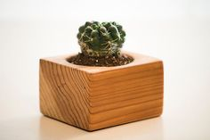 Handcrafted Wooden Planter by TheOpSpot on Etsy, $8.00
