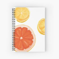 """Feeling fruity fresh"" Spiral Notebook by gr8gatsbriela   Redbubble Spiral, Bubbles, Notebook, Fresh, Feelings, Illustration, Design, Illustrations"