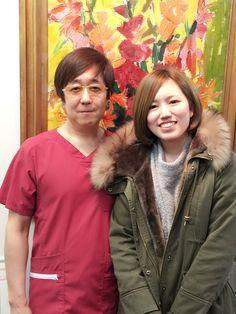 名古屋市中区栄 素晴らしいの患者様とのメモリー写真です。 にしやま形成外科皮フ科クリニック 2016/3/4