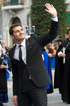 Iker Casillas - Principes de Asturias Awards 2012 - Day 2