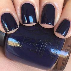 Navy Nails, Opi Nails, White Nails, Opi Gel Polish, Nail Polish Colors, Manicure Y Pedicure, Colorful Nail Designs, Trendy Nails, Beauty Nails