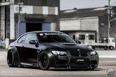 Visit The MACHINE Shop Café... ❤ Best of BMW @ MACHINE ❤ (BMW E92 ///M3 Black Coupé)