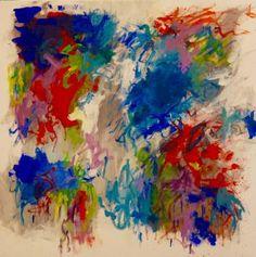 """Saatchi Art Artist Katrine P Funderud; Painting, """"Flower-bomb"""" #art"""
