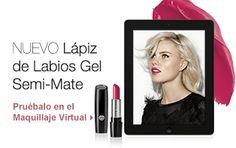 Prueba el nuevo Lápiz de labios gel semi-mate en el Maquillaje Virtual de Mary Kay