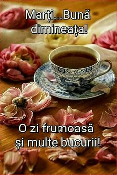 Good Morning, Tea Cups, Tableware, Tuesday, Thankful, Motivation, Pictures, Bom Dia, Buen Dia