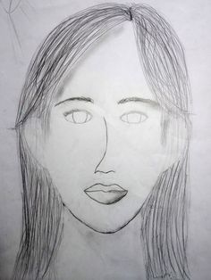 Female, Art, Portrait, Kunst, Art Education, Artworks