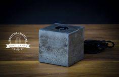 Concrete Lamp Cube