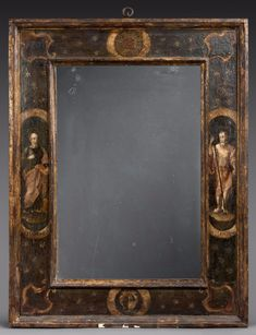The Collection of Pierre Berndt: an auction by Artcurial on 14 November 2017 Mirrored Picture Frames, Modern Picture Frames, Antique Picture Frames, Antique Pictures, Modern Pictures, Antique Frames, Old Frames, Vintage Wall Art, Vintage Walls