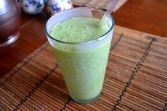 Peanut Butter Runner's Base Green Smoothie