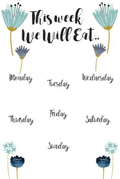 How to Meal Plan the easy way - Simply Happy Mama Free Printable Weekly Meal Planner<br> How to Meal Plan the easy way for beginners. Meal planning can save time and money. We all know this, but it still doesn't make it any easier to do. Meal Planner Printable, Weekly Meal Planner, Planner Pages, Weekly Menu, Green Living Tips, Planning Budget, Happy Planner, Mom Planner, Frugal Meals