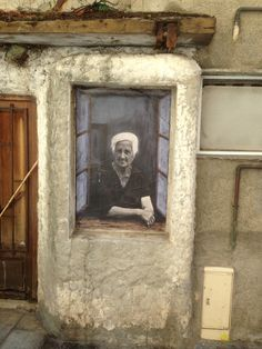 Old Woman Fotot von Naturalborn1973