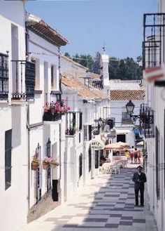 Mijas, Costa del Sol, Spain  one of my favorite places - Shared by #BerkeleyPropertyGroup  specialises in Property Management and Maintenance services on the Costa del Sol, including garden and pool services http://www.berkeleypropertygroup.com/