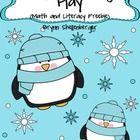 Snowy Day Penguin Play Freebie