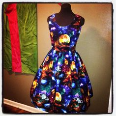 Space: The Final Frontier Dress  AKA the Ms. by foureyedgirl