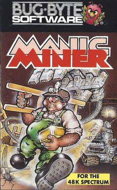 Manic Miner Retro Video Games, Video Game Art, Retro Games, Games Box, Old Games, Star Citizen, Computer Video Games, Space Games, Gaming