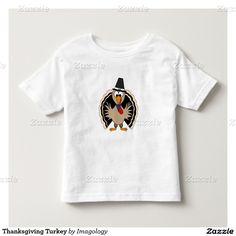 Thanksgiving Turkey Toddler T-shirt