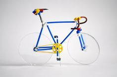 Lego Bicycle 1 from Moscow   by Silvavasil_LEGO