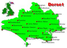 Dorset County towns