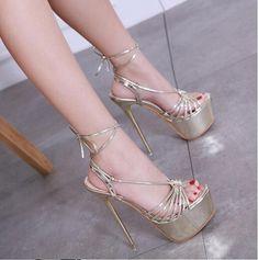 d6626fa82d47 Womens Sexy Stiletto Peep Toe Strappy Sandal Platform Slingbacks Ankle  Strapy R8  fashion  clothing