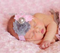 Baby+Headband+Infant+Headband+Newborn+by+SummerChicBoutique,+$7.00