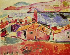 Henri Matisse - Paysage à Collioure, 1906, oil on canvas